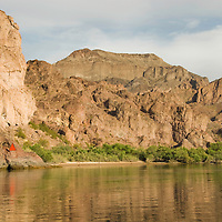 The final desination and campground at located at mile marker sixty, The Black Canyon, Nevada.