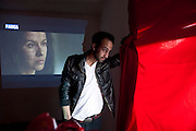 Film director Alfredo Castruita in Ciudad Juarez, Chihuahua, Mexico<br /> <br /> &copy; Stefan Falke<br /> www.stefanfalke.com<br /> La Frontera: Artists along the US Mexican Border