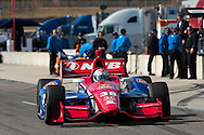 20-21 Febuary, 2012 Birmingham, Alabama USA.Graham Rahal on pit lane.(c)2012 Scott LePage  LAT Photo USA