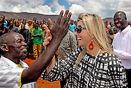 13-12-2013 - 0-12-2013 - TANZANIA - DODOMA  Queen Maxima of the Netherlands  Arrival airport Dodoma.  Gawaye Vineyard  she speaks with local farmers . Her Majesty Queen Máxima United Nations Secretary-Geneneral's Special Advocate for Inclusive Finance for Development will visit 5 days ethiopia and tanzania. Her Majesty Queen Máxima visits in her capacity as a special advocate of the Secretary-General of the United Nations in the field of inclusive finance for development (inclusive finance for development) Ethiopia and Tanzania from Monday 9 to Friday, December 13, 2013. COPYRIGHT ROBIN UTRECHT