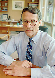 Thomas J. Capano poses for a portrait in his attorney's office in Wilmington, Delaware on Wednesday July 31, 1996. Wilmington police consider Capano as a suspect in the disappearance of Anne Marie Fahey, the Governor's scheduling secretary, according to state prosecutors.(Jim Graham)