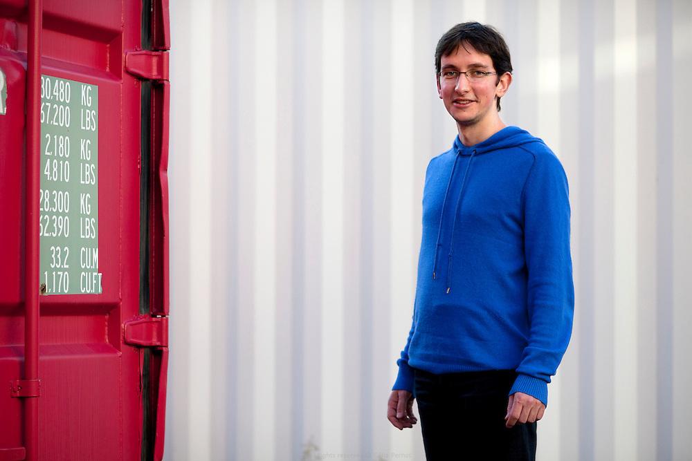 Nicolas Dujardin, maître de conférence, chercheur en thermique des matériaux biosourcés, laboratoire CERTES de l'Université Paris Est Créteil