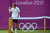Tennis, Mens - Singles - Istomin (UZB) vs Muller (LUX) [Second Round]