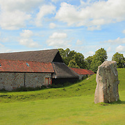 Thatched Roof Stable And Stone - Avebury, UK