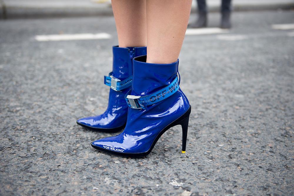 Caroline Daur in Off White Boots 1