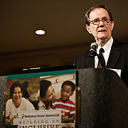 Minnesota Commissioner of Agriculture Dave Frederickson speaks to the 2011 Gathering of the National Rural Assembly in St. Paul on June 27, 2011.