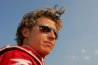 Ryan Briscoe at the Chicagoland Speedway, September 11, 2005