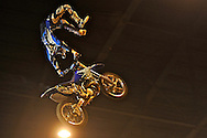 X-Knights, first event of the 2009 freestyle FMX International Cup at Figali Convention Center.