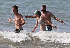 JUL 18 2014 Hot weather in the United Kingdom
