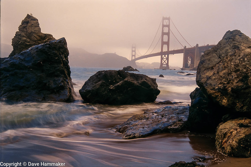 Golden Gate Bridge from Baker Beach, San Francisco, California