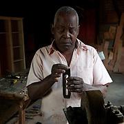 Mauritius. Emanuel the carpenter.