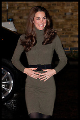 File photo - Duchess of Cambridge Pregnant with 2nd Baby