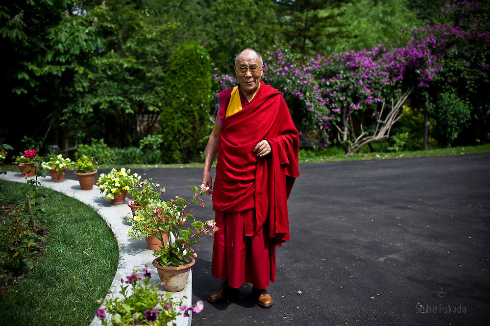 Dalai Lama is seen during the interview at his residence in Dharamsala, India, May 25, 2009.