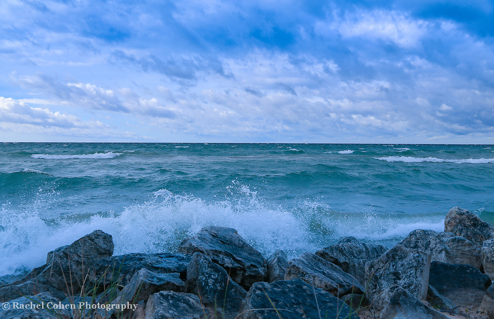 &quot;Morning Waves a Crashing 2&quot;<br />