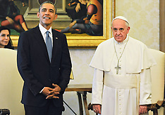 MAR 27 2014 Pope Francis Meets President Obama