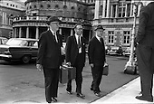 1963 - Deputies arrive at Dail Eireann, Kildare Street, Dublin