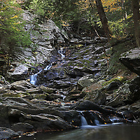 Massachusetts has a number of beautiful waterfalls tucked away in its scenic State Parks. Waconah Falls is located in Waconah State Park not far from Pittsfield, MA. I frequently visit the most beautiful waterfalls in New England to capture them in autumn when fall foliage adds additional color surrounding waterfalls. Fall foliage usually peaks mid October in the beautiful Berkshires. The Berkshires is a rural area in the western Massachusetts mountains dotted with small villages and towns. It is popular vacation destination and it's known for outdoor activities, autumn foliage tours and viewing, a farm to table food and thriving arts scene. <br />