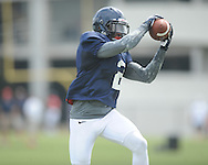 Ole Miss defensive back Quintavius Burdette (2) at football practice in Oxford, Miss. on Sunday, August 4, 2013.