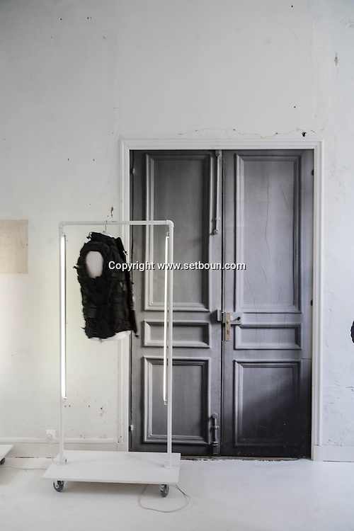 France. Paris fashion. Martin Margiela couture showroom  163 rue Saint Maur