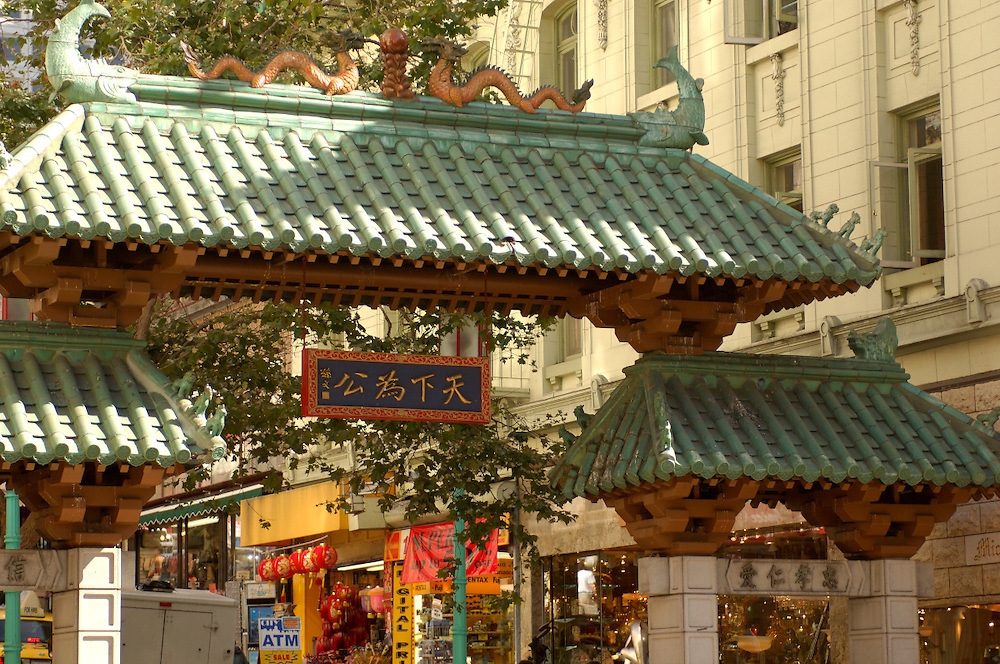 Chinatown Gate, San Francisco, California, United States of America