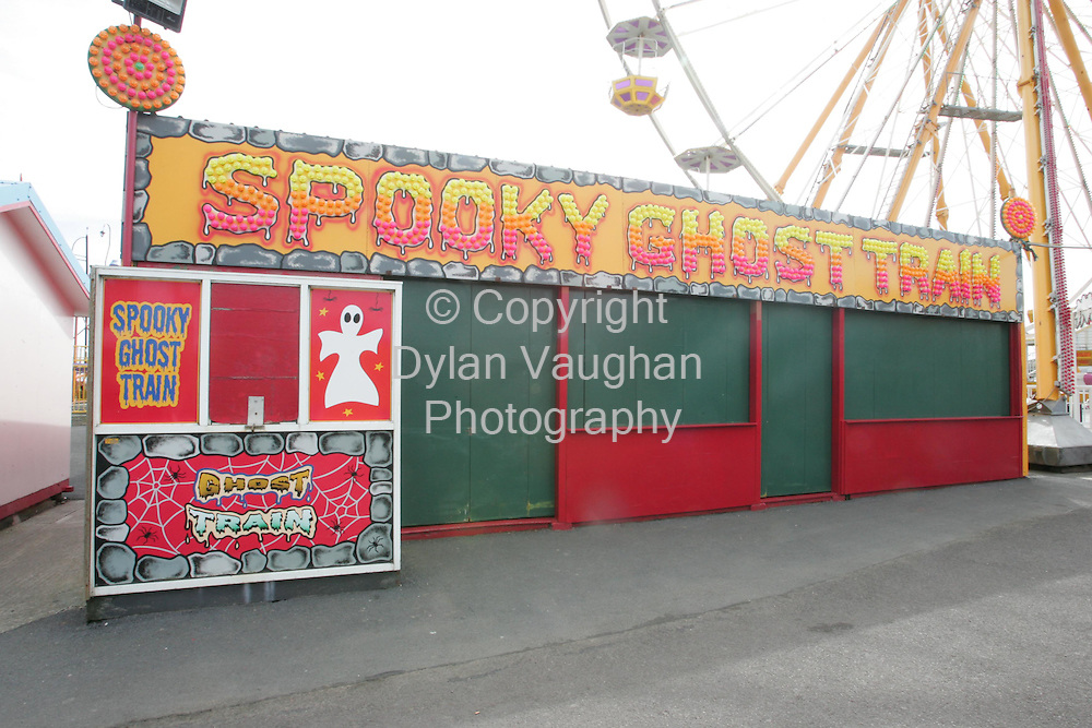 27/8/2006.The Ghost Train in Tramore yesterday where a man was fatally injured on Saturday..Picture Dylan Vaughan.