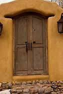 Santa Fe, New Mexico, Canyon Road, Door