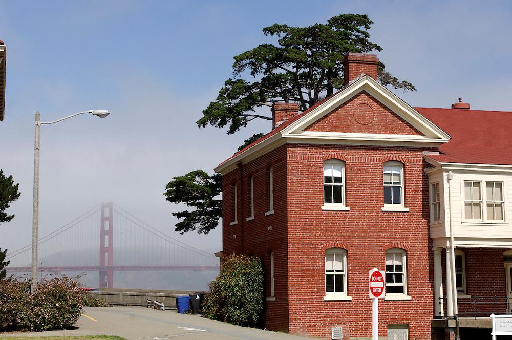 Presidio National Historic Site and Golden Gate Bridge, San Francisco, California, United States of America