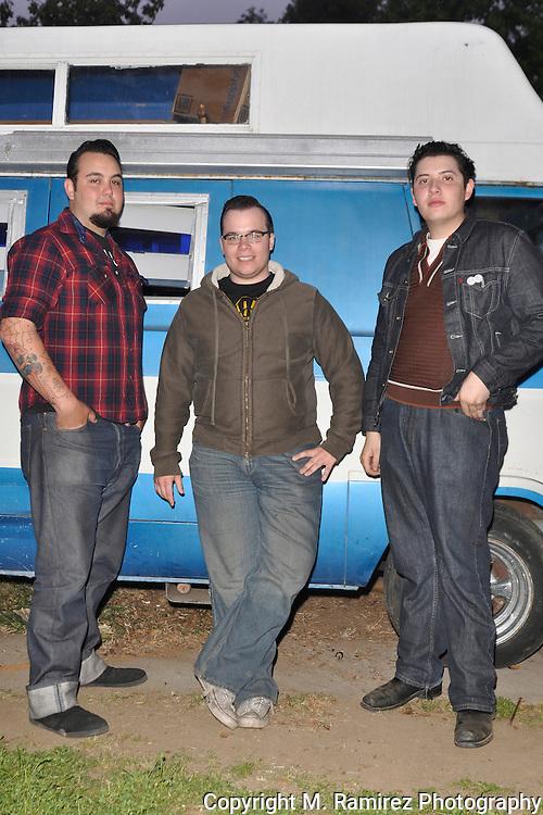 The Delta Bombers session at Wild Records studio in Altadena, CA 5/2/2010.