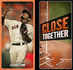 Pole banners, San Francisco Giants ad campaign, Baker Street Advertising, 2014