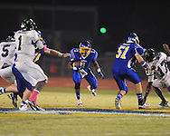 Oxford High's Jarius Barnes (1) vs. Lake Cormorant in Oxford, Miss. on Friday, October 5, 2012. Oxford High won 26-0.