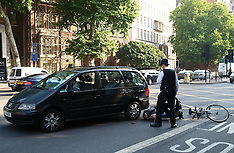 AUG 23 2013 Female cyclist knocked over outside Magistrates Court