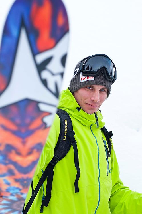 Skier: Richard Permin<br /> Location: Hokkaido, Japan
