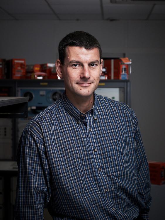 LE BOURGET, FRANCE. NOVEMBER 16, 2011. Olivier Ferrante is a lead investigator at the BEA (Bureau d'Enquetes et d'Analyses). He lead an investigation to find the blackbox from the the Air France flight AF 447 - Rio - Paris. Photo: Antoine Doyen