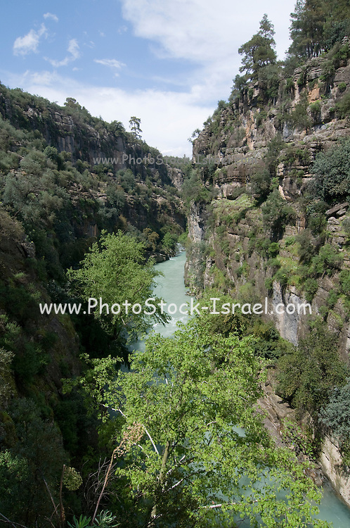 Turkey, Antalya, Koprulu River Canyon