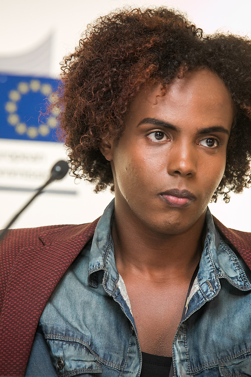 03 June 2015 - Belgium - Brussels - European Development Days - EDD - Migration - Migrants matter for development - New actors and energies in a new development agenda - Farah Abdi Abdullahi ,<br /> Young Refugee &copy; European Union