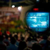 VENEZUELAN POLITICS / POLITICA EN VENEZUELA<br /> &quot;Alo Presidente&quot; in Barlovento, Miranda State, President of Venezuela Hugo Chavez / &quot;Alo Presidente&quot; en Barlovento, Estado Miranda, Presidente de la Republica Bolivariana de Venezuela Hugo Chavez<br /> Barlovento, Miranda State - Venezuela 2005<br /> (Copyright &copy; Aaron Sosa)