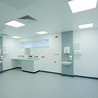 new empty hospital ward