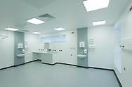 new empty hospital ward