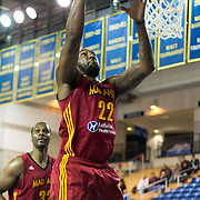Fort Wayne Mad Ants Forward Ramon Harris (22) grabs a rebound in the first half of a NBA D-league regular season basketball game between the Delaware 87ers and The Fort Wayne Mad Ants Sunday, Dec. 15, 2013 at The Bob Carpenter Sports Convocation Center, Newark, DE