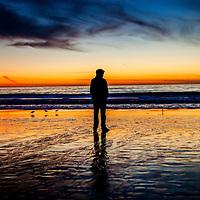 14-0102 Hermosa Beach Sunset