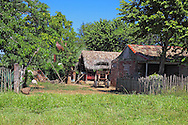 Farm house in the Bartolome Maso area, Granma, Cuba.