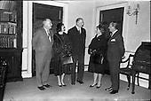 1963 -  Senor and Senora Campas at Aras an Uachtarain