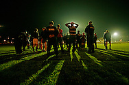 Gala Rugby Club mid-week training session.