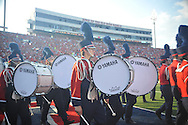 The Ole Miss band performs before the Ole Miss vs. Southeast Missouri State at Vaught-Hemingway Stadium in Oxford, Miss. on Saturday, September 7, 2013.