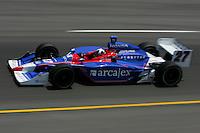 Dario Franchitti at the Richmond International Raceway, SunTrust Indy Challenge, June 25, 2005