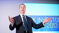 APR 13 2013 Nigel Farage - UK Investor Show 2013