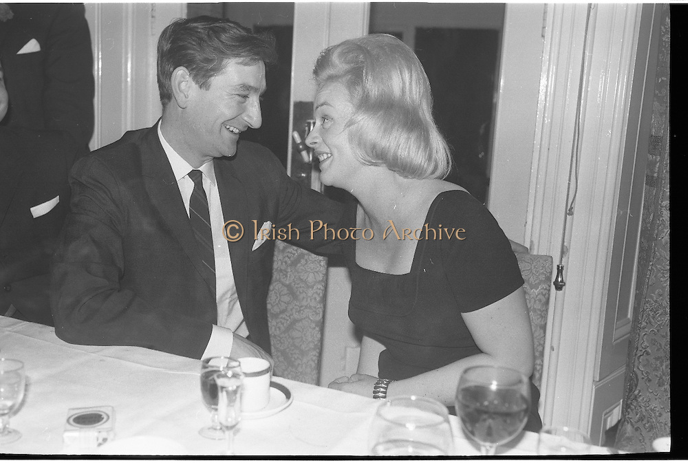 Revlon Reception..1963..03.10.1963..10.03.1963..3rd October 1963..A reception for Revlon was held this evening at the Glencormac House Hotel, Wicklow. Unfortunately we do not have the caption sheet containing the names of the people involved, If you know any of the individuals involved why not let us know at irishphotoarchive@gmail.com and we will gladly add the caption.