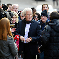 GLASGOW, SCOTLAND - FEBRUARY 28:  Richard Gere meets fans at the UK premiere of Time Out Of Mind at The Glasgow Film Festival on February 28, 2016 in Glasgow, Scotland.  (Photo by Ross Gilmore/Getty Images)