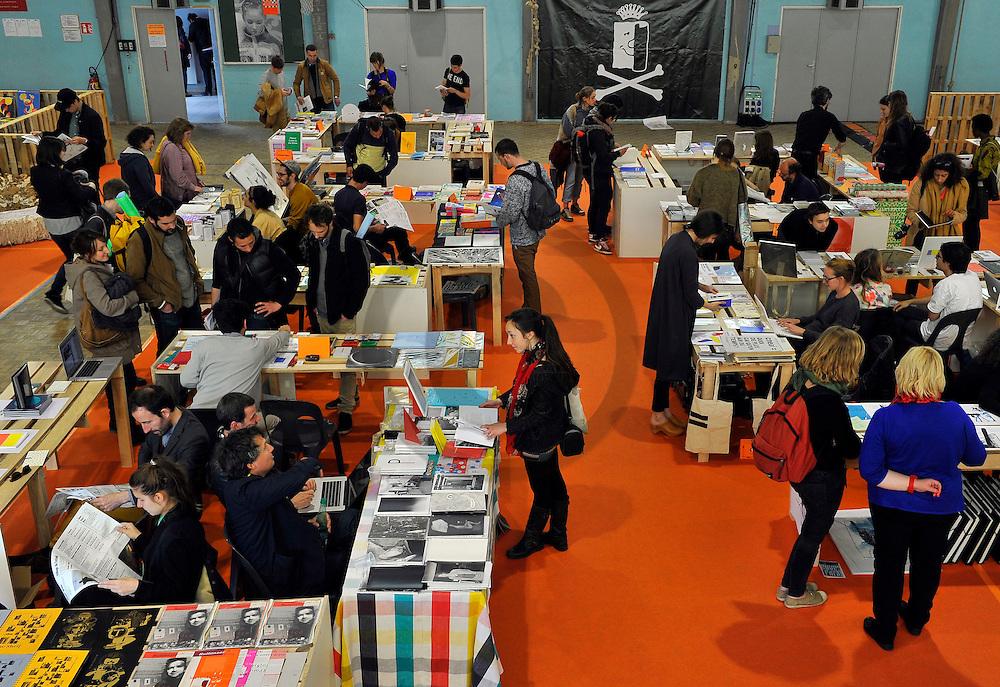 24/05/14 - CHAUMONT - HAUTE MARNE - FRANCE - 25e anniversaire du Festival International du graphisme et de l'affiche, devenu Chaumont Design Graphique. Bookroom - Photo Jerome CHABANNE - Contact: 06 07 33 72 57