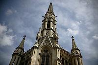 20110903 - Barcelona, Spain - Old church in Barcelona, Spain..(Matthew Healey)